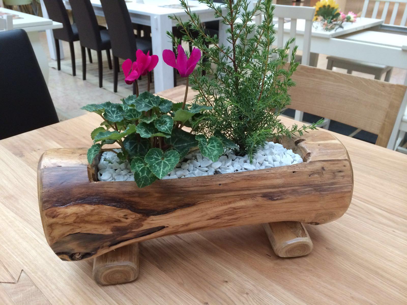design wood fioriera
